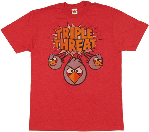Angry Birds Split T Shirt Sheer