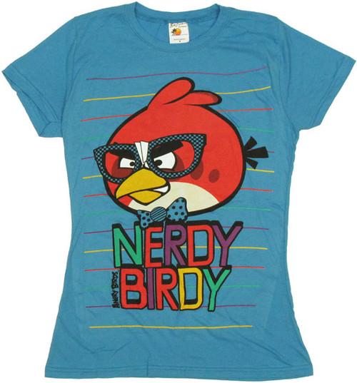 Angry Birds Nerdy Baby Tee