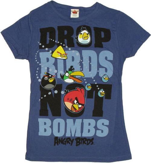 Angry Birds Drop Baby Tee