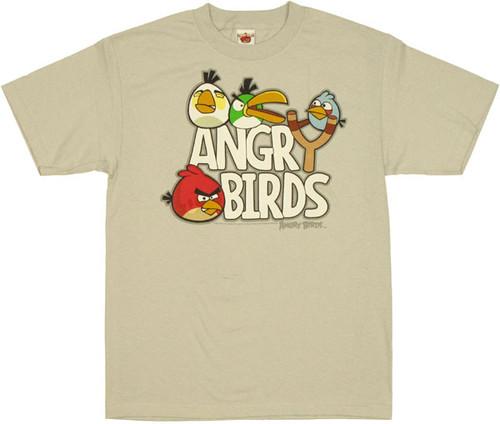 Angry Birds Slingshot T Shirt