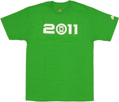 Green Lantern Movie 2011 T Shirt