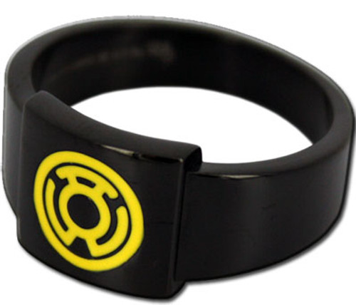 Green Lantern Sinestro Logo Ring