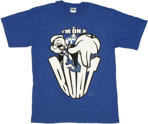 Popeye Boat T Shirt