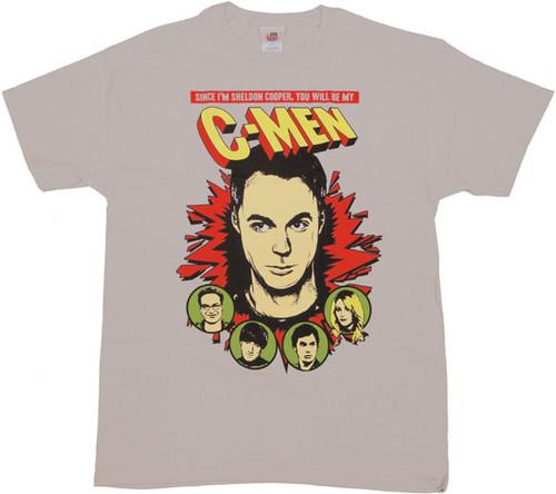 Big Bang Theory C Men T Shirt