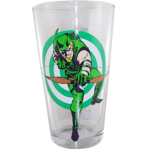 Green Arrow Target Glass