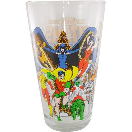 Teen Titans Group Glass