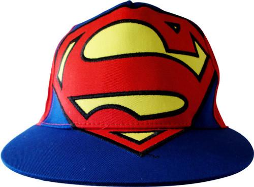 Superman Huge Logo Youth Hat