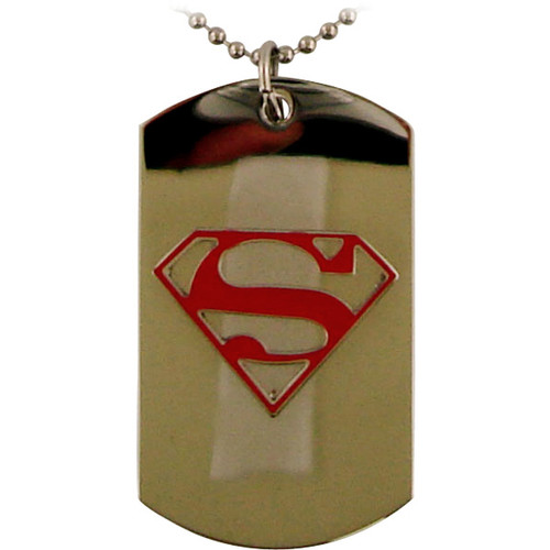 Supergirl Logo Dog Tag