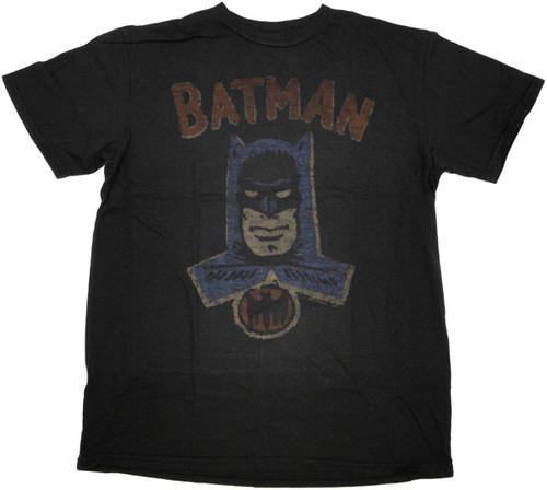 Batman Vintage T Shirt Sheer