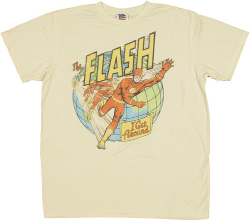 Flash Get Around T Shirt Sheer