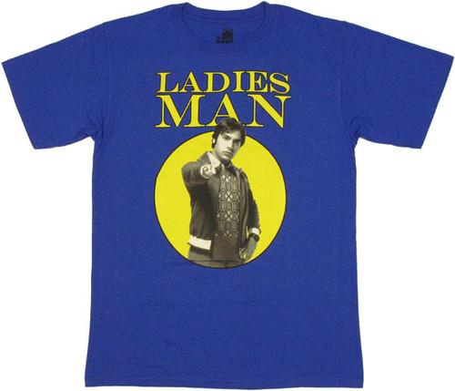 Big Bang Theory Ladies Man T Shirt