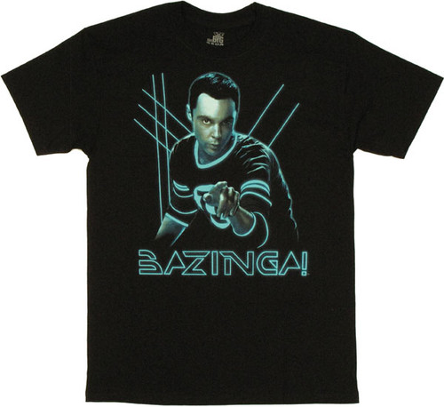 Big Bang Theory Sheldon Lights T Shirt