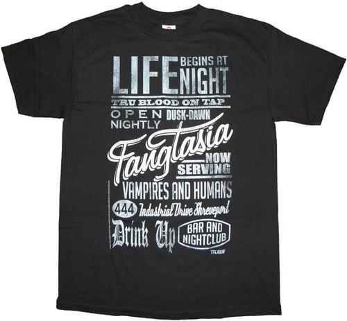 True Blood Fangtasia T Shirt
