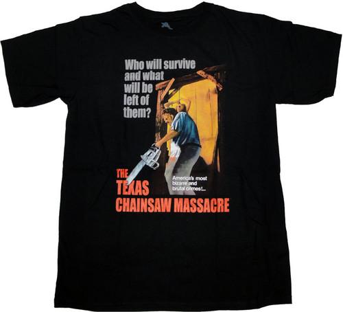 Texas Chainsaw Massacre Survive T Shirt