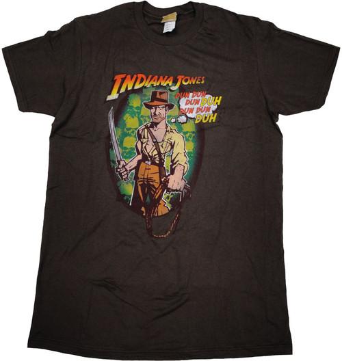 Indiana Jones Song T Shirt Sheer