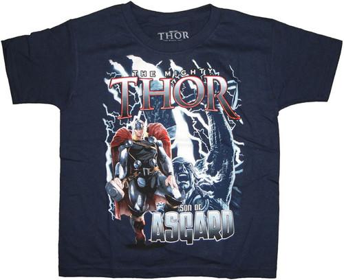 Thor Son Juvenile T Shirt
