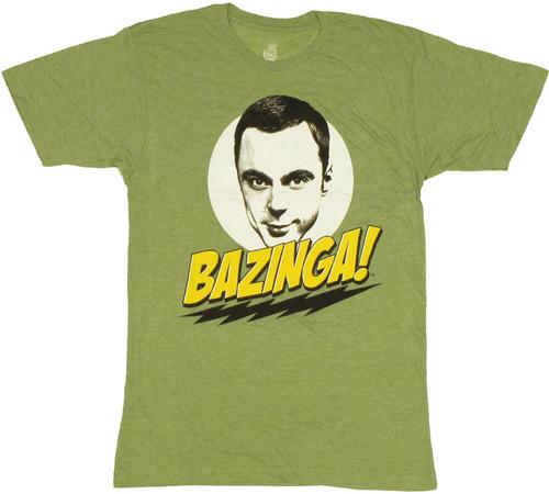 Big Bang Theory Bazinga T Shirt Sheer