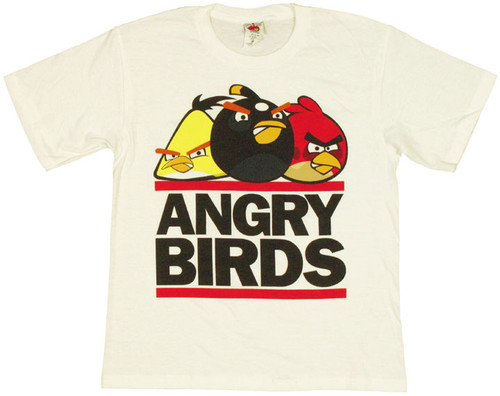 Angry Birds Logo Youth T Shirt