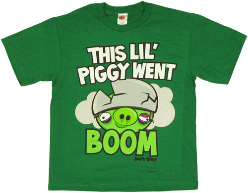 Angry Birds Piggy Youth T Shirt
