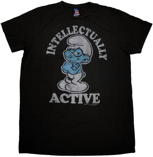 Smurfs Active T Shirt Sheer