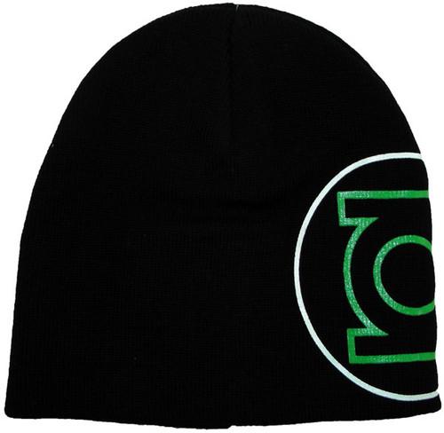 Green Lantern Side Logo Beanie