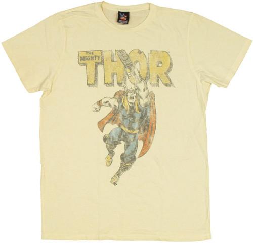 Thor Punch T Shirt Sheer