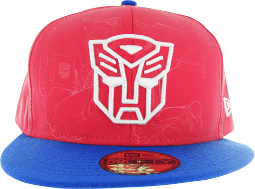 Transformers Optimus Reflect 59FIFTY Hat e71ec38ce119
