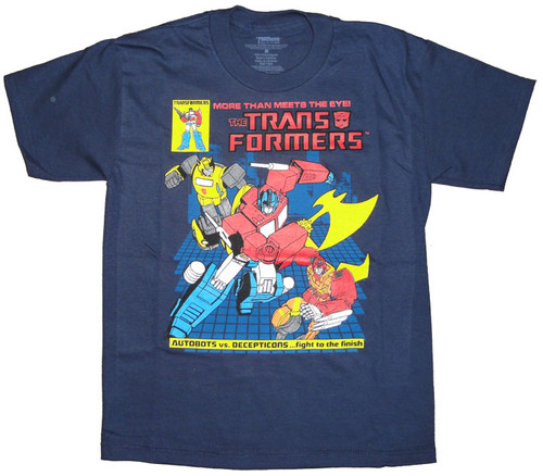 Transformers Fight Youth T Shirt
