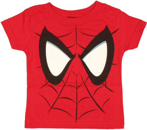 Spiderman Face Infant T Shirt
