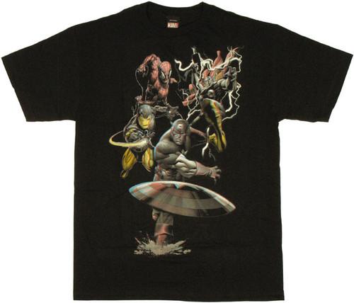 Marvel 3D T Shirt