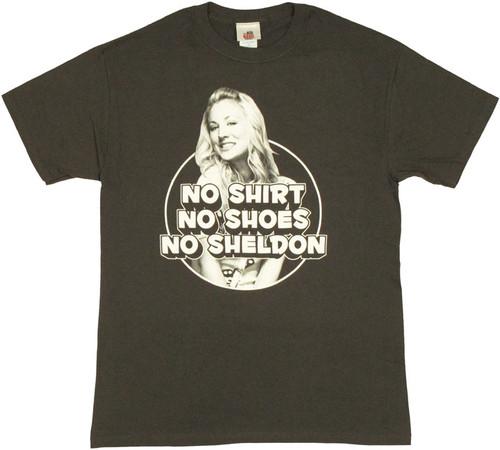 Big Bang Theory No Sheldon T Shirt