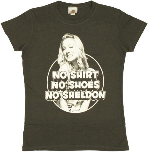 Big Bang Theory No Sheldon Baby Tee