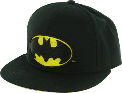 66d17368a Batman Embroidered Logo Snapback Hat