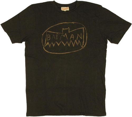 Batman Junk Food T Shirt Sheer