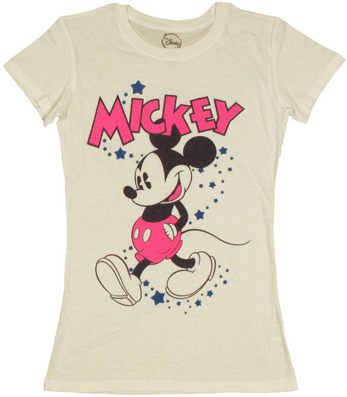 Disney Mickey Walk Baby Tee