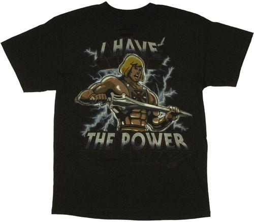 He Man Electric T Shirt