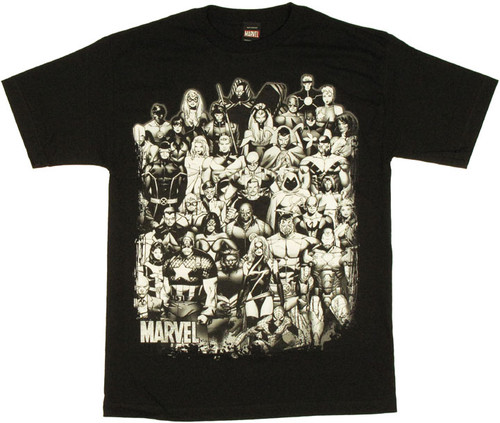 Marvel Inked T Shirt