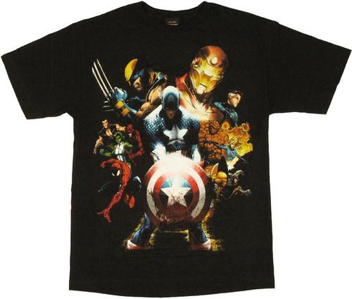 Marvel Civil War T Shirt