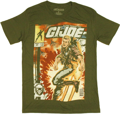 GI Joe Jet Pack T Shirt Sheer