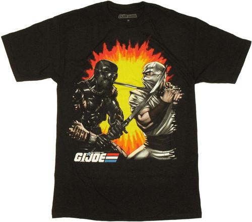 GI Joe Ninja Duel T Shirt Sheer