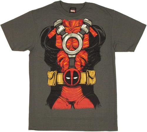 Deadpool Costume T Shirt