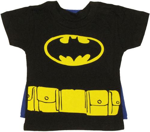 Batman Cape Toddler T Shirt
