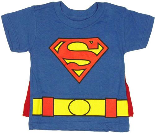Superman Cape Toddler T Shirt