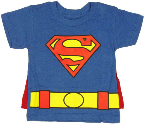 01f080db2 Toddler Superman Shirt | Superman T-Shirt With Cape
