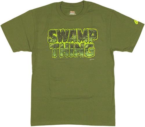 Swamp Thing Logo T Shirt