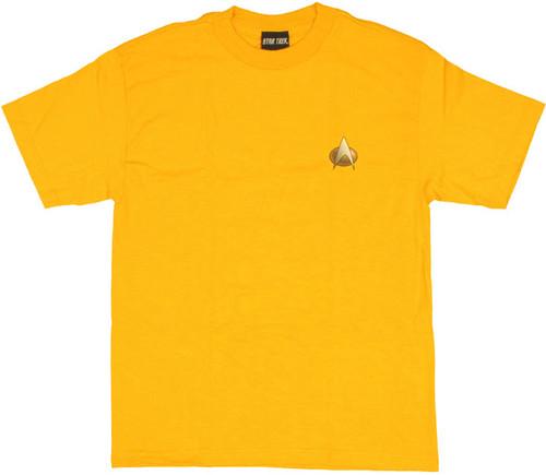 Star Trek TNG Engineering T Shirt