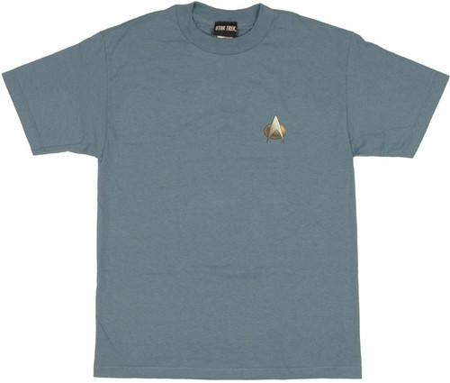 Star Trek TNG Science T Shirt
