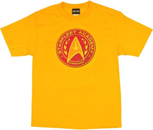 Star Trek Academy Command T Shirt