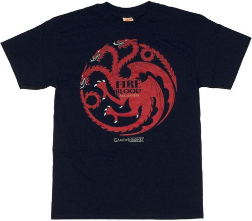 Game of Thrones Targaryen T Shirt