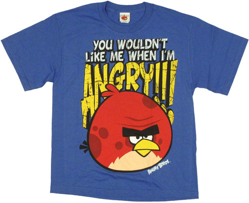 Angry Birds Like Me Youth T Shirt
